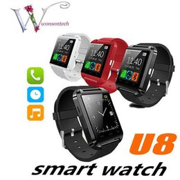 $enCountryForm.capitalKeyWord Australia - U8 Bluetooth Smart Watch U Watches Touch Wrist WristWatch Smartwatch for iPhone 4 4S 5 5S Samsung S4 S5 Note 3 HTC Android Phone