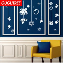$enCountryForm.capitalKeyWord Australia - Decorate Home merry christmas new year art wall sticker decoration Decals mural painting Removable Decor Wallpaper G-1218