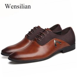 $enCountryForm.capitalKeyWord Australia - Luxury Formal Shoes Men's Business Shoes Black Leather Classical Man Oxford Gentleman Zapato Formal Hombre
