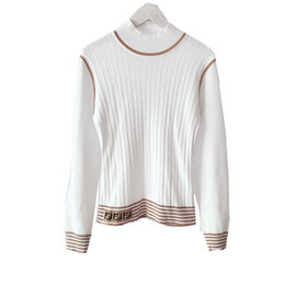 thin edges 2019 - Women s Clothes Thin And Half High Double Long Sleeves Edge Pure Color Elastic Force Knitting Blouses discount thin edge