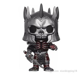 Box Mini Figures UK - low price Funko Pop The Witcher Eredin Vinyl Action Figure with Box #322 Popular Toy Doll Good Quality