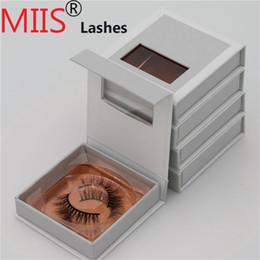 Top False Eyelashes Australia - Wholesale top quality private label 3D mink false eyelashes with custom eyelash packaging