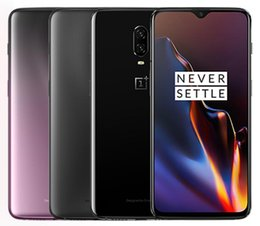 """China Original Oneplus 6T Global Firmware Unlocked Cell Phone Snapdragon 845 Octa Core 128GB 256GB 6.41"""" 20MP Dual Rear Camera suppliers"""