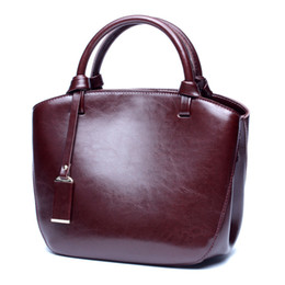 best brand ladies bag UK - best quality women bags MICHA KEN lady Genuine leather handbags famous Designer brand bags purse shoulder tote Bag female 6821