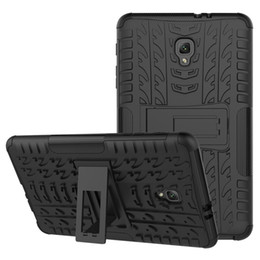Tablet Hybrids UK - Dazzle Hybrid Kickstand TPU+PC Rugged Armor Tablet Case Cover for Samsung Galaxy Tab E lite 7.0 S2 T710 with Kickstand