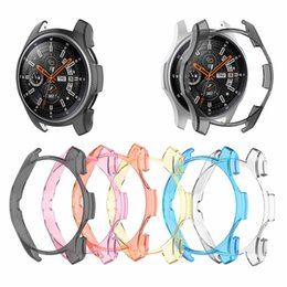 $enCountryForm.capitalKeyWord NZ - New case cover for samsung Gear S3 frontier Galaxy Watch 46mm 42mm soft TPU All-Around protective cases shell frames