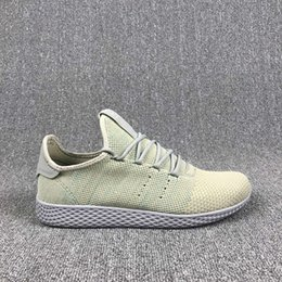 trail trainers UK - 2020 Human RACE HU Pharrell Williams Trail Mens Designer Sports neutral spikes Running Shoes for Men Sneakers Women Casual Trainers shoe