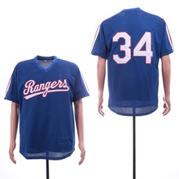 Chinese  Rangers Nolan Ryan Jersey Mitchell & Ness Royal 1989 Authentic Cooperstown Collection Mesh Batting Practice Baseball Jerseys manufacturers