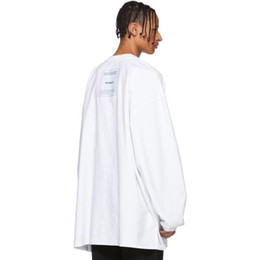$enCountryForm.capitalKeyWord Australia - 19SS Vetements Double-sided Wear Solid Pullover Sweatshirt Crewneck Fashion Simple Sweater Casual Couple Street Hoodies T Shirts HFYMWY225