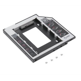 Hd disk drive online shopping - Universal nd mm MM Ssd Hd SATA Hard Disk Drive Second HDD Caddy Adapter Stand Holder Bay For Cd Dvd Rom CDROM Optical Bay Drive