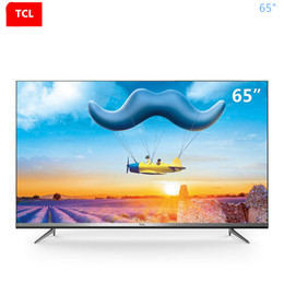 tcl remote control Canada - TCL 65-inch full-scene AI intelligent flat-panel TV voice control without remote control ultra hd 4K TV free shipping .