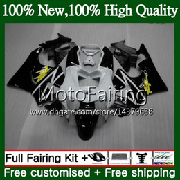 cbr919 fairings UK - Body For HONDA CBR 919RR Black white CBR900 RR CBR 900RR CBR919RR 98 99 50MF20 CBR 919 RR CBR900RR CBR919 RR 1998 1999 Fairing Bodywork