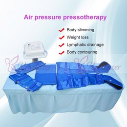 Slimming Home Australia - 16pcs air bags blue color vest home spa salon use air pressure pressotherapy weight loss body slimming machine
