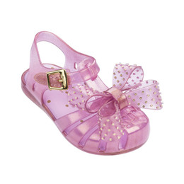 $enCountryForm.capitalKeyWord Australia - 2019 New Mini Melissa Jelly Sandals Children Bow Sandals Roman Jelly Shoes Non-slip Beach Shoes Melissa Kids Shoes Y19062001