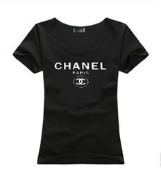 Vente en gros 2019 Marque D'été T-shirts Femmes Tops Designer De Luxe t-shirts Lady Summer Beach Vêtements Tee-Shirts À Manches Courtes Tops Casual T-shirt
