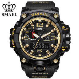 $enCountryForm.capitalKeyWord Australia - SMAEL Men's Top Brand Military Watch Luxury Resin Quartz LED Digital Watch Men's Waterproof Sports Watch Men's Relogio Masculino