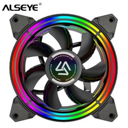 pc cooling fan Canada - Fans & Cooling ALSEYE PC Fan 4 pin PWM 120mm Cooling Fans Cooler Static RGB Computer Fan for Case and