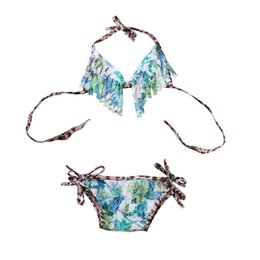 $enCountryForm.capitalKeyWord Australia - 2018 Newborn Infant Baby Girl Floral Beachwear Summer Vacation Bikini Set Swimsuit Swimwear Beach Suit Clothes 0