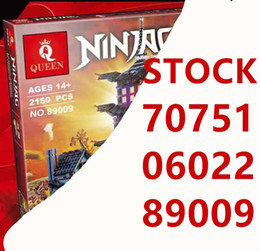 temple blocks Australia - 06022 Ninja Series The Temple of Airjitzu Set 2150Pcs Building Blocks Bricks 70751 DIY Toys For Kids As Birthday Gifts