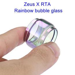 $enCountryForm.capitalKeyWord Australia - For Geekvape Zeus X RTA extended rainbow bubble glass tube factory price ecig vape glass bubble fat boy tank