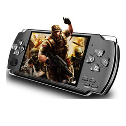 Portable PmP Player online shopping - PMP X6 Handheld Game Console Screen For PSP X6 Game Store Classic Games TV Output Portable Video Game Player Free DHL