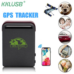 gps tracking devices for kids Australia - GPS TK102 GPS Tracker For Kids Child Elderly Vehicle Pet Bike personal GSM GPRS GPS Car Tracking Device Real Time Location
