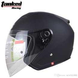 Motorcycle Half Helmets Sale NZ - Hot sale Men Women Tanked Racing T536 Half face Motorcycle helmets four seasons motorbike electric bicycle safety helmet
