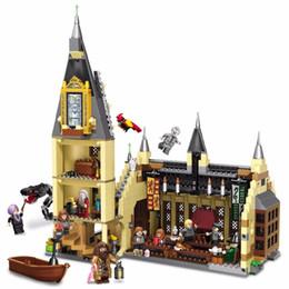 $enCountryForm.capitalKeyWord Australia - Harry Series Castle Children's Puzzle Assembling Model Building Blocks Kit Toys Gifts MX190730