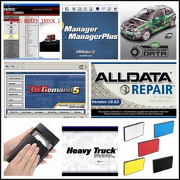 Venta al por mayor de 2019 Alldata Auto Repair Software todos los datos 10.53V + Mitchell ondemand 2015 datos de reparación de automóviles + ELSAWin 5.3 + ATSG + Vivid 21in1TB HDD3.0