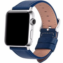 $enCountryForm.capitalKeyWord Australia - Eastar 3 Color Hot Sell Leather Watchband for Apple Watch Band Series 3 2 1 Sport Bracelet 42 mm 38 mm Strap For iwatch 4 Band