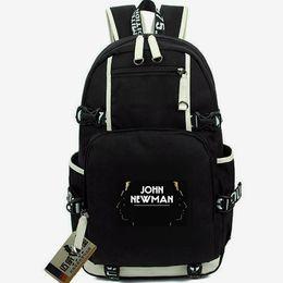 $enCountryForm.capitalKeyWord Australia - John Newman day pack Feel the love daypack Singer soul schoolbag Music packsack Laptop rucksack Sport school bag Out door backpack