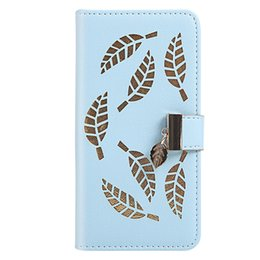 leaving cards Australia - Flip Cover Stand Wallet PU Leather Case For Samsung Galaxy S10 S10 E S10 Plus S10 5G Card Slots Hollow Out Gold Leaves