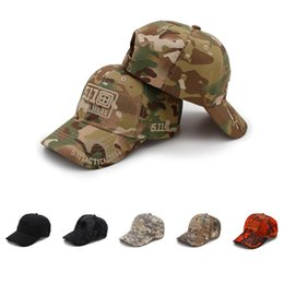 Armée camouflage casquette de baseball 511 casquettes tactiques en plein air respirant parasol alpinisme chapeau décontracté été 2018 nouveaux chapeaux