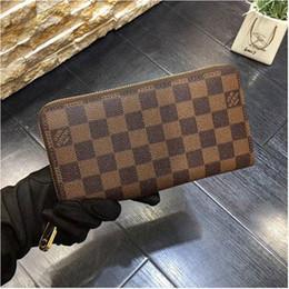 $enCountryForm.capitalKeyWord Australia - Designer New Leather Multicolor Wallet purse Date Code Designer Wallet Short Wallet Card Holder Ms. Mens Classic Zip Pocket free shpping