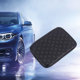 box carpet Australia - Car Armrest Mat Auto Interior Armrests Storage Box Mats Leather Storage Box Carpet Protector Automobiles Accessories Car Styling