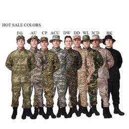 $enCountryForm.capitalKeyWord Australia - 13colors Men Army Tactical Uniform Camouflage Combat Shirt Clothes Special Forces ACU Militar Uniforms for Man Coat Set