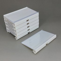 Filing Products Office & School Supplies A7 Back Sticked By Magnetic Plastic Pop Paper Sign Card Label Display Show Case Frame On Retail Store Shelf Promotion 1000pcs Fixing Prices According To Quality Of Products