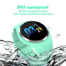 Smart Health Watch Heart Monitor Australia - Men Color Screen Smart Watch IP68 Waterproof Heart Rate Sleep Health Monitoring Sports Wristband Smart Watch