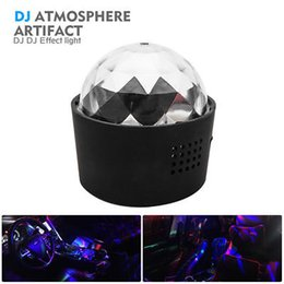 $enCountryForm.capitalKeyWord Australia - 3W LED Ball USB Rotating Stage Light Car DJ Club Disco KTV Party RGB Crystal