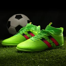 Futsal Shoes Australia - Men's futzalki football shoes sneakers indoor turf superfly futsal original football boots ankle high soccer boots cleats Large Size 38-45