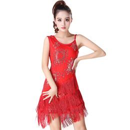 50dd19b4377 Latin Dance Dress Professional Latin Dancing Skirt Women Girl Salsa  Ballroom Tango Cha Cha Rumba Samba Dresses for Dancing