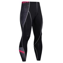 $enCountryForm.capitalKeyWord Australia - 2017 Hot Sale Compression Pants Men Fashion Joggers Soft Leggings Elastic Bodybuilding Fitness Crossfit Men Trousers 3D Pants