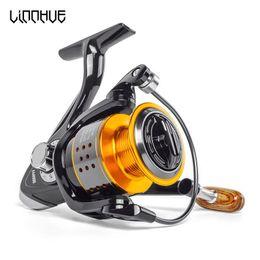 $enCountryForm.capitalKeyWord UK - Spinning Fishing Reel 13bb No Gap Fa3000 4000 6000 All Metal Wheel 8kg Pike Orange Black Spinning Reel High Speed Wheel Carp