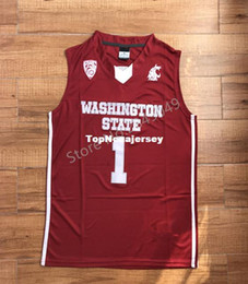 1 Klay Thompson Cougars College Basketball Jersey Embroidery Stitched  XS-6XL Vest Jerseys NCAA f11cfae7a