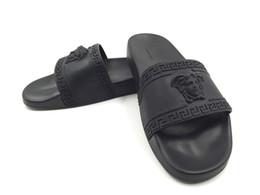 $enCountryForm.capitalKeyWord Australia - NEW Designer slipper Gear bottoms mens striped sandals causal Non-slip summer huaraches slippers flip flopsVersace slipperUS 7-12