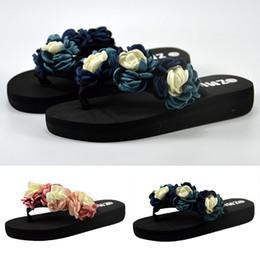 $enCountryForm.capitalKeyWord Australia - 2019 New Elegant Slippers For Women Muffin Flat Bottom Slippers Sandals Home Bathroom Beach Flip Flops Shoes Zapatos De Mujer