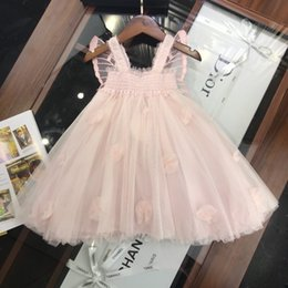 Fashion Trends Lace Dress Australia - Children clothing latest summer fashion trend refreshing casual ultra-thin breathable brand girls lace skirt dress