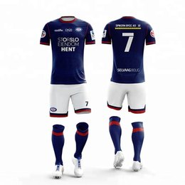c5881e344 Customized Soccer Uniform team practice football jersey Sublimation custom  youth sports outfits Colthes 2019 Football Uniforms sets