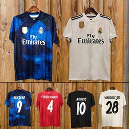 Houston texans jersey online shopping - New Real Madrid home Soccer Jersey  Real Madrid away blue 8b96d730c