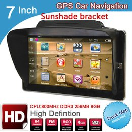 $enCountryForm.capitalKeyWord NZ - 7 inch truck ram 256M 8GB 800*480 MTK GPS Navigation with Wireless Rear View camera and sunshade